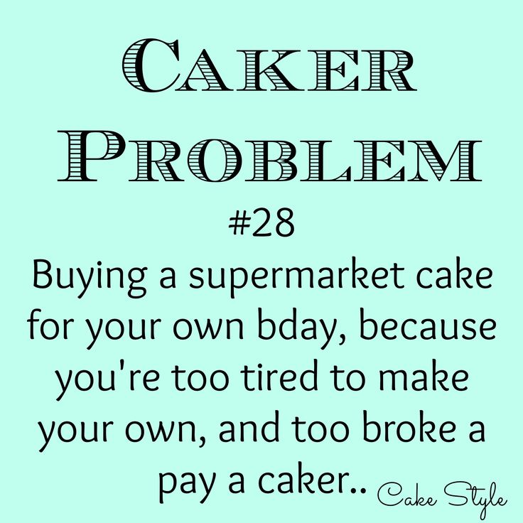 #truth - this almost happened this year! I very nearly ran out of time to make a cake for myself, and film it, of course. Just got it done and it turned out adorable!