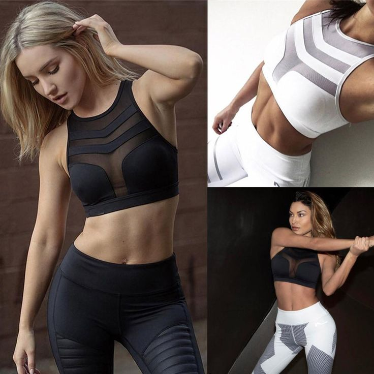 KLV Women's Sports Set – Leggings With Matching Sports Bra  On Sale Now! Gre…