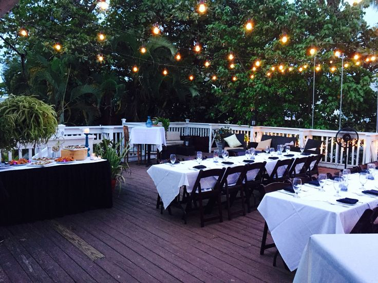 Bagatelle Key West Weddings Receptions Rehearsals Large Parties