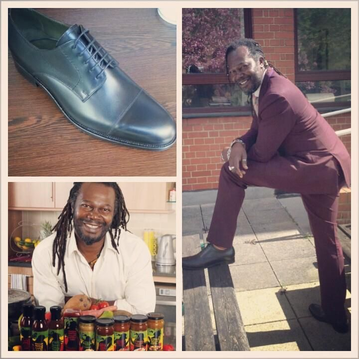 'I've been wearing Robinson's shoes for quite some time. I wear both Robinson's own brand and Barkers.' - Levi Roots