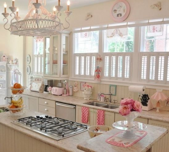 108 Best Pink And Blue Kitchens Images On Pinterest