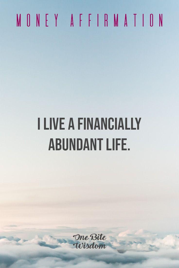 Money Affirmation To Manifest Wealth