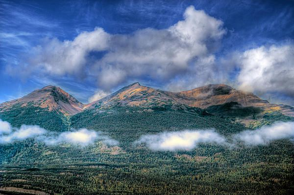 mountains ,sky,clouds,forest,nature,landscape,b.c.,skyscape,blue,trees,wilderness,dramatic clouds,mountainscape