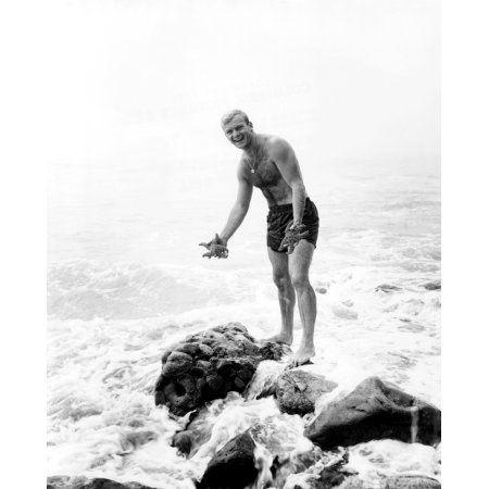 Aldo Ray Canvas Art - (16 x 20)