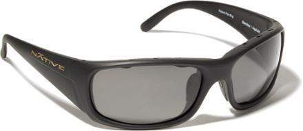 Native Bomber/Iron Sunglasses