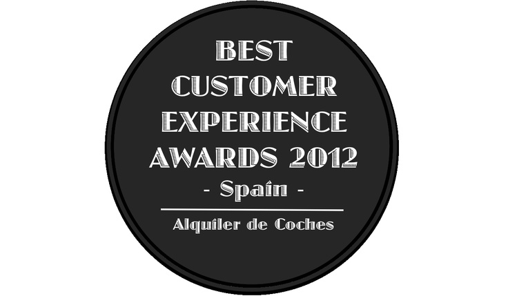 Best Customer Experience Awards, Spain 2012, Categoria Alquiler de Coches