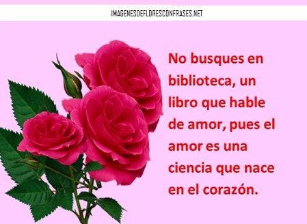 imágenes de ramos de rosas con frases de amor