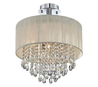 Tutorial on how to make a Drum Shade Chandelier based on inspiration from this one
