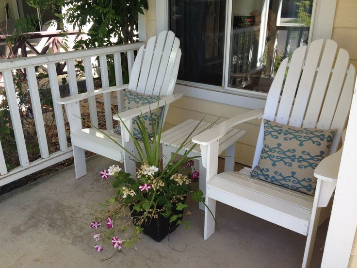 white wood adirondack chairs 2
