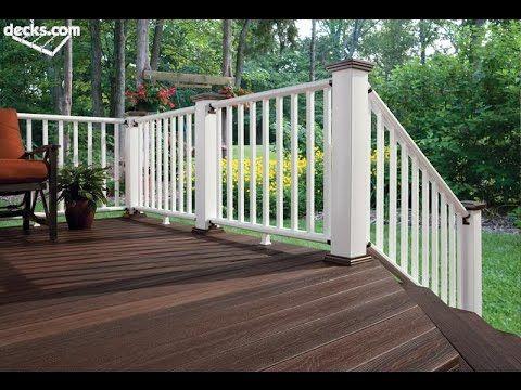 Railings For Decks # Railings For Concrete Porch # Railing Height For De...