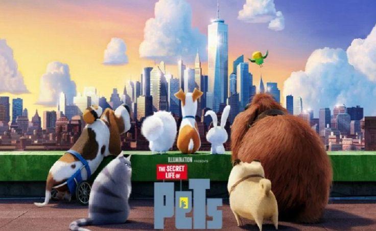 O filme Pets: um novo desfile chegando ao parque da Universal Studios em Orlando