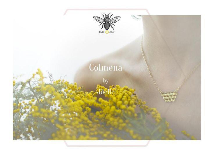 Colmena  Colmena / Beehive Jewellry La colección está inspirada en la delicada naturaleza, el detalle de la frágil y romántica armonía que está bajo la protección de estos seres tan especiales, las Abejas. _________________________________________________ The collection is inspired by the delicate nature and the fragile and romantic armory that these very special beings, bees, bring.