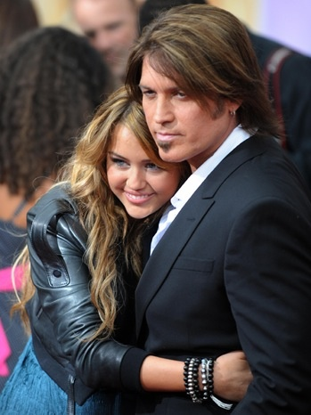Singers/songwriters Billy-Ray and daughter Miley Cyrus
