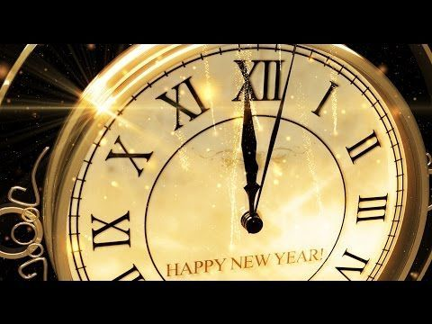 Happy New Year Clock 2016 ( v 473 ) Countdown Timer with Sound Effects HD 4k! - YouTube