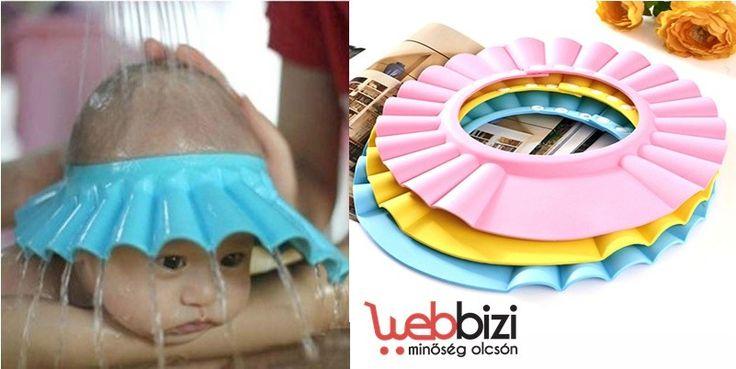 Babafürdető sapka - kék - Új termék!