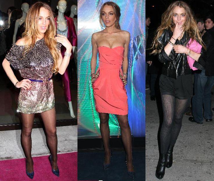 Confesso que sou fã de Lindsay Lohan e de todas essas atrizetes do movimento junkie-trash-hollywoodano, mas tô chocada que nas suas últimas aparições na NYFW ela tenha surgido assim: Terrivelmente magra e sem querer assumir seus óbvios e notórios distúrbios alimentares que as imagens acima insistem em confirmar. Lindsay é tão bonita, aparentava estar bem …