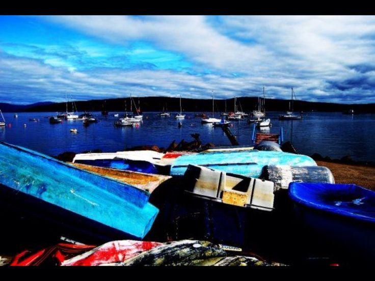 Boats in Scotland