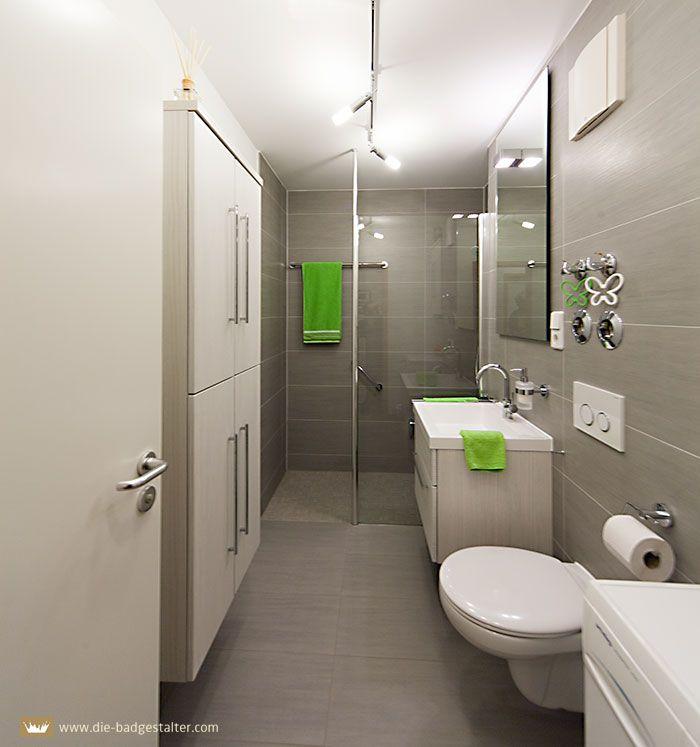 Schlauchbad Grau Gaste Wc Bad Badezimmer