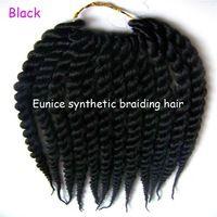 "Cheap Hair Extensions Short Marley Braids 12"" 2pcs Havana Mambo Twist Crochet Braiding Hair Extension Free Shipping"