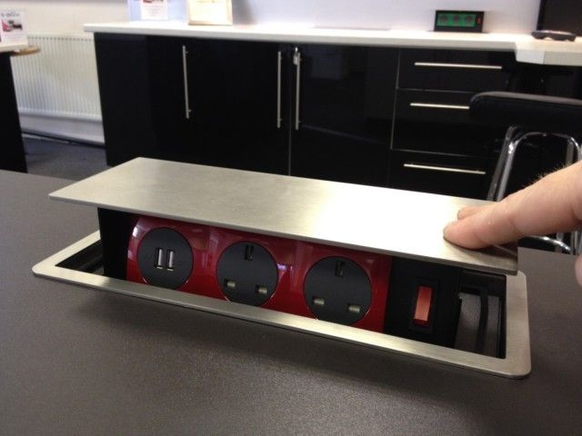 Kitchen Island Pop Up Sockets With Countertop