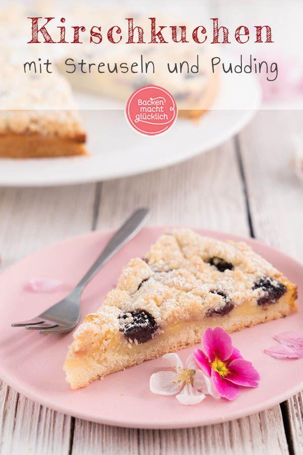 Pudding Streuselkuchen Mit Kirschen Backen Macht Glucklich Rezept In 2020 Streusel Kuchen Streuselkuchen Mit Kirschen Streuselkuchen Mit Pudding