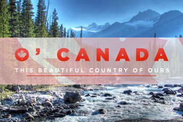 It's not hard to see how beautiful Canada is, especially with our latest blog post. Happy Canada Day everyone!