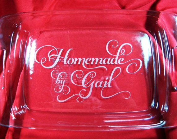 14 Best Images About Personalized 9 X 13 Glass Pyrex