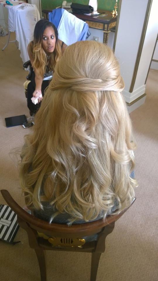 long hair wedding hairstyles by www.janitahelova.com
