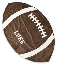 personalized football blanket - Chasing Fireflies