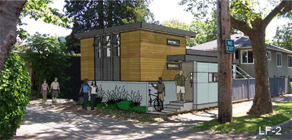 laneway, small house, design