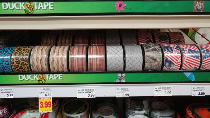 Cool guy pattern duct tape.