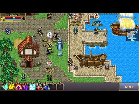Warspear Online RPG GAME #2 - Warspear Online is a Android Free 2 play 2D Fantasy Role Playing MMO Game MMORPG featuring massive battles for territories between Alliances