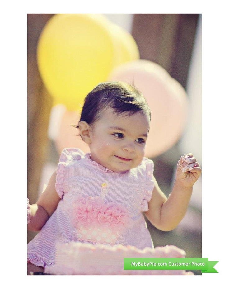 Ava is a Birthday Princess in her Party Time Cupcake Pinafore & Bloomers by Mud Pie $32.95 http://www.mud-pie-baby.com/party-time-cupcake-pinafore-and-bloomers-by-mud-pie