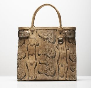 Carlend Copenhagen - Exclusive bag bag made from pyhton skin