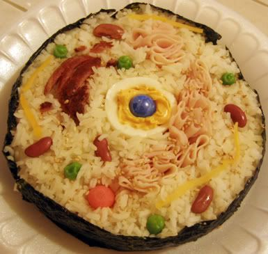 """C1 W3 SCIENCE """"Sushi Cell"""" edible model of animal cell. Coolest thing ever!"""