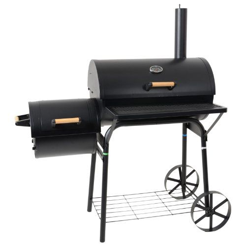 Azuma-BARREL-OR-SMOKER-Charcoal-BBQ-Barbecue-Garden-Outdoor-Cooking-Grill