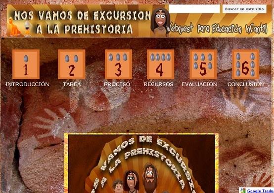 La prehistoria per E. Infantil. En castellà.