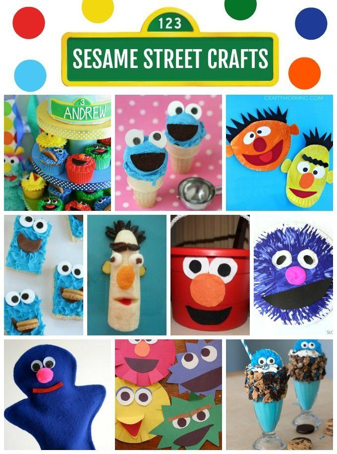 25 unique sesame street crafts ideas on pinterest diy for Elmo arts and crafts