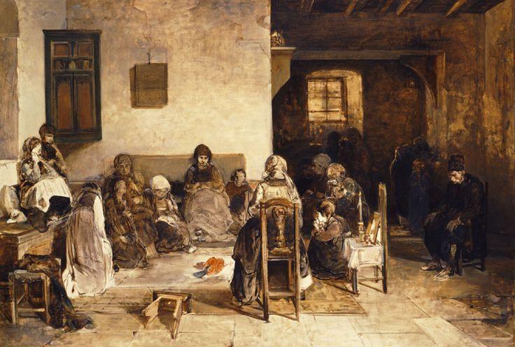 Νικηφόρος Λύτρας, Ψαριανό μοιρολόι,1888.