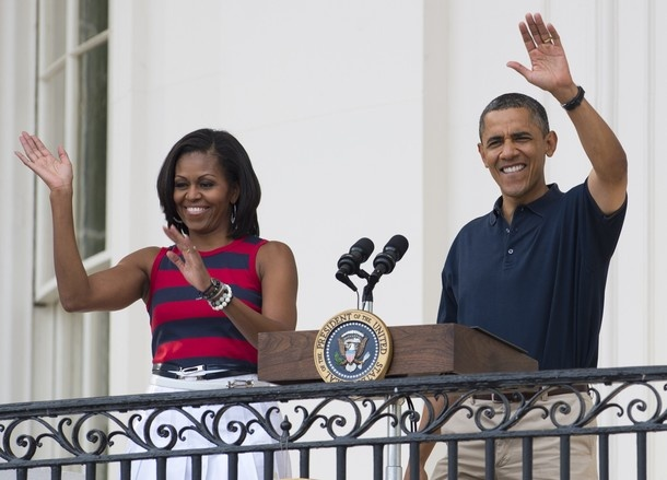 The President & First Lady of USA