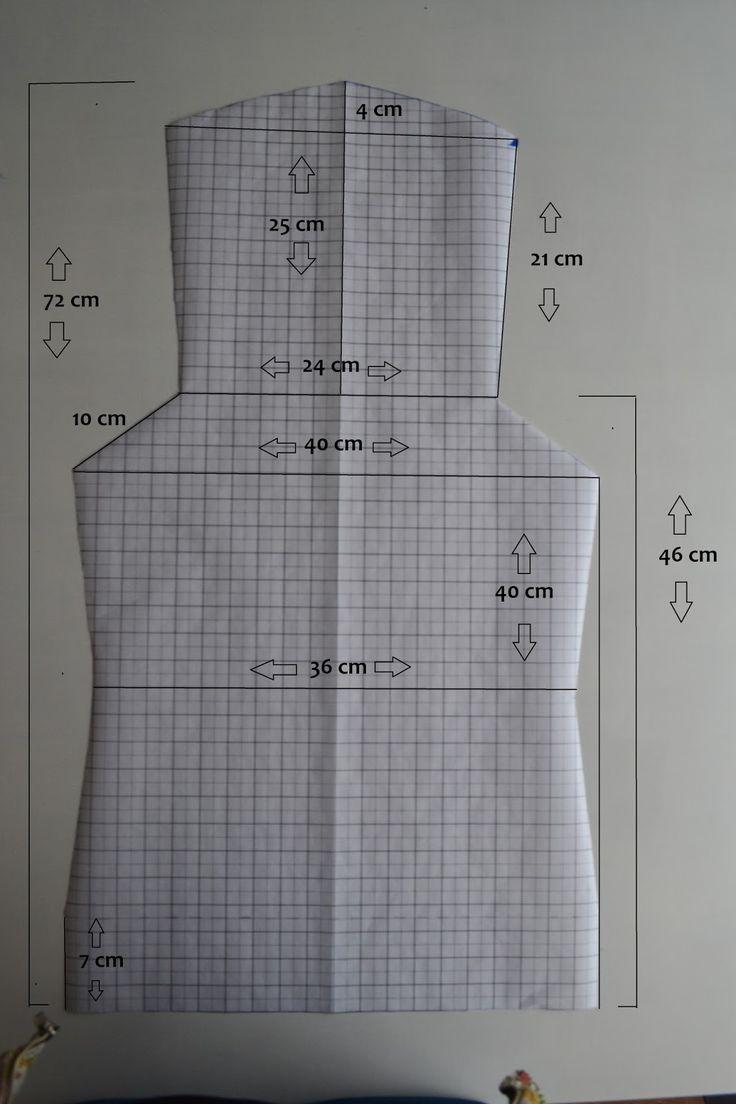 Yvonne maakt!: DIY Mei tai wrap conversion patroon