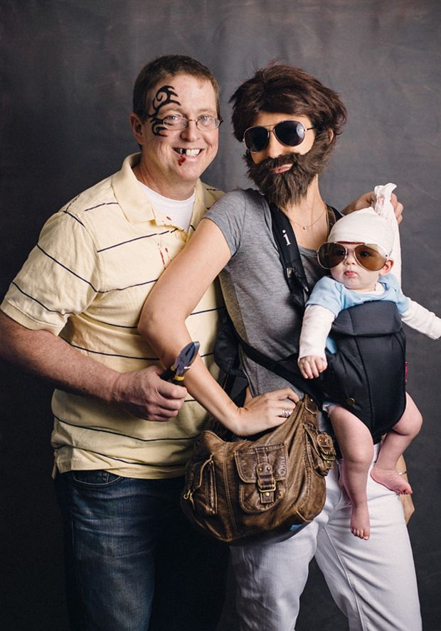 The Hangover | Get the whole family involved with perfect Hangover costumes.