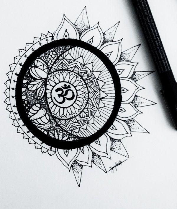 40 Simple Mandala Art Pattern And Designs Free Jupiter Mandala Design Art Mandala Art Simple Mandala