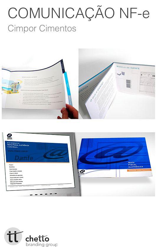 O projeto consistiu no desenvolvimento do leque informativo da empresa, para reforçar o uso da Nfe a todos os seus fornecedores. Formado por impresso, hotsite, folder, email marketing, carta ofício.