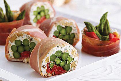 Schinken-Sushi mit Walnüssen (Rezept mit Bild) von California_Walnuts | Chefkoch.de