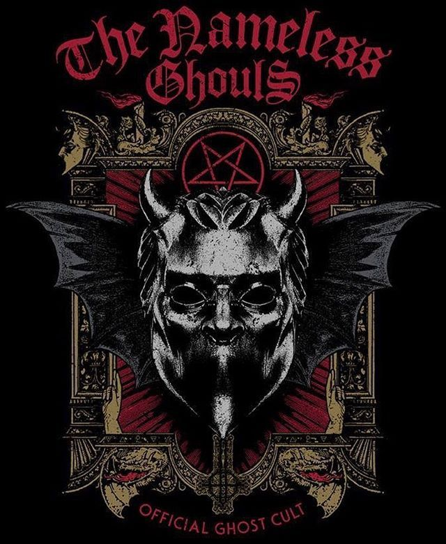 Nameless Ghoul Artwork by Brian van der Pol Location: The Netherlands  The Nameless Ghouls Official Ghost Cult. #tngofficial