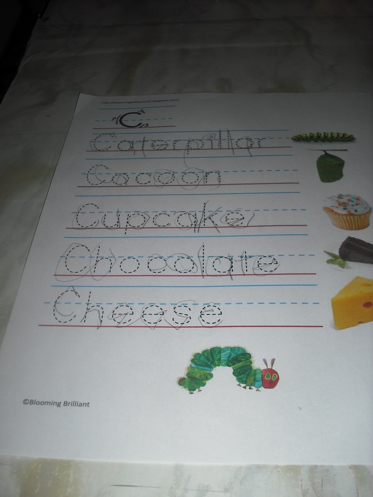 The Very Hungry Caterpillar Activity | Blooming Brilliant: The Very Hungry Caterpillar Activity Pack