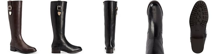 COACH Easton Wide-Calf Tall Riding Boots