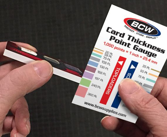 100 For Thick Extra Thick Sports Cards BCW Thick Trading Card Sleeves 1 Pack