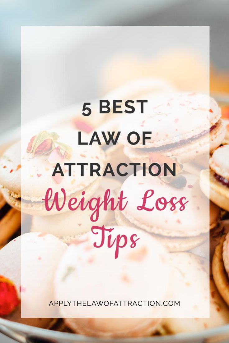 Law of Attraction Weight Loss Tips – 5 Best LOA Tips for Weight Loss